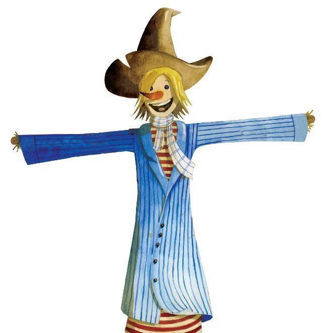 L'épouvantail, mascotte de l'opération de ferme en ferme