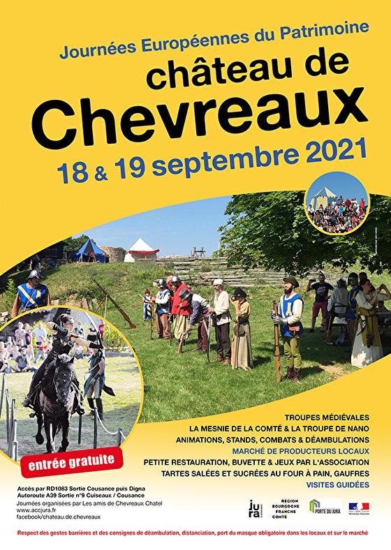 Affiche Chateau de Chevreaux