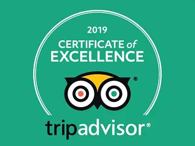 Ananda Fuara Trip Advisor Certificate of Excellence