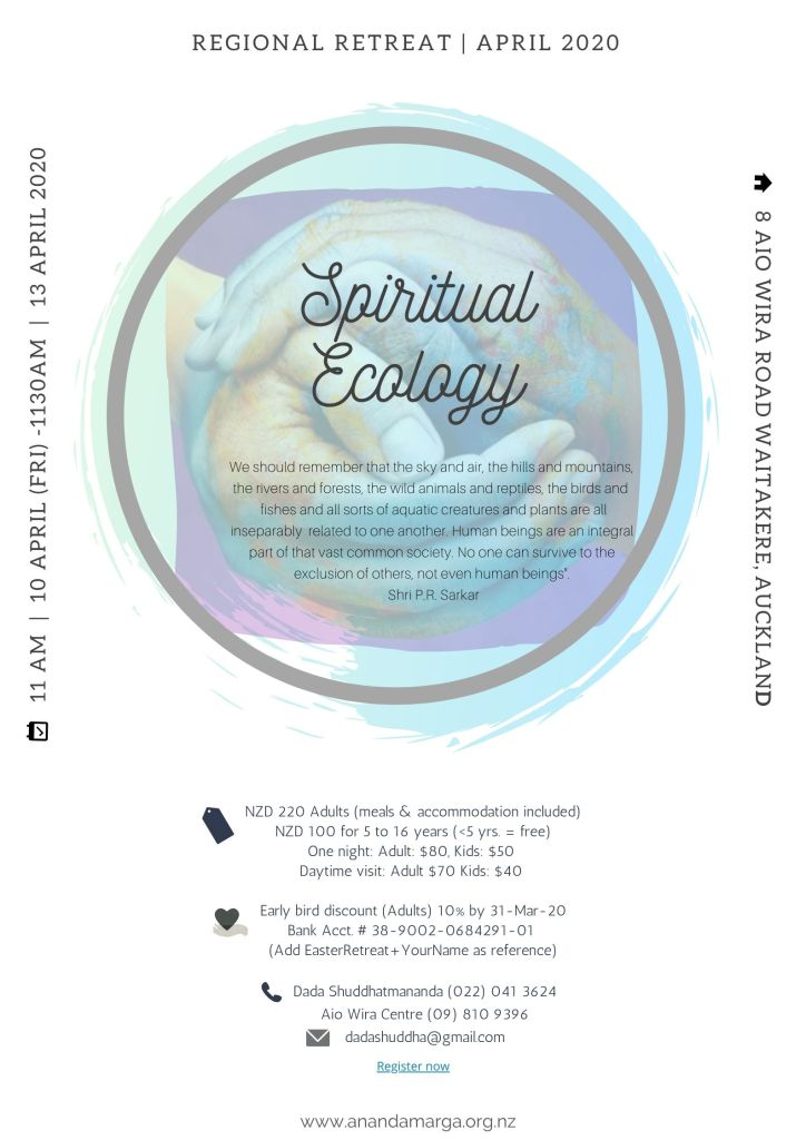 spiritual ecology retreat
