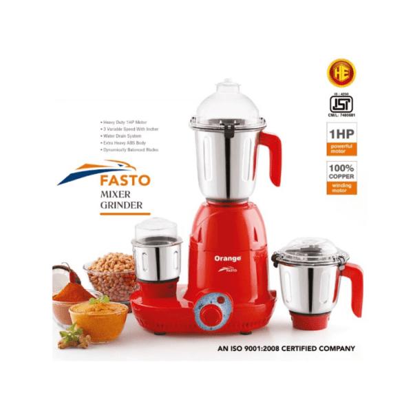 Fasto Mixer Grinder by Orange