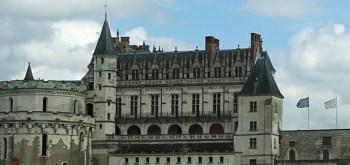 Chateau d'Amboise (a 1ª foto é o Chateux de Chambord). Fonte