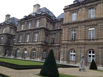 Palácio de Luxemburgo  e seus jardins