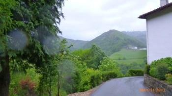 As paisagens...