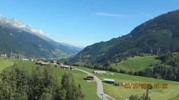 Paisagem dos Alpes Suíços
