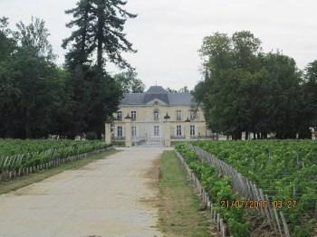 "Um dos ""Chateaux"" na vinícolas..."