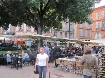 Na Praça Saint George