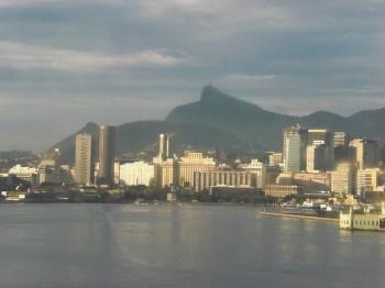 Chegando ao Rio...