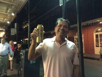 Cerveja na rua!