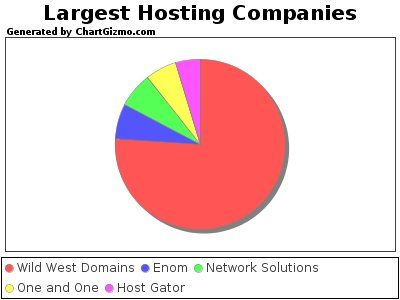 The Largest Web Hosting Companies