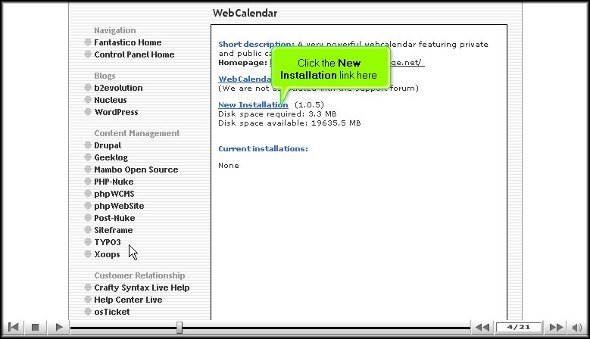 WebCalender