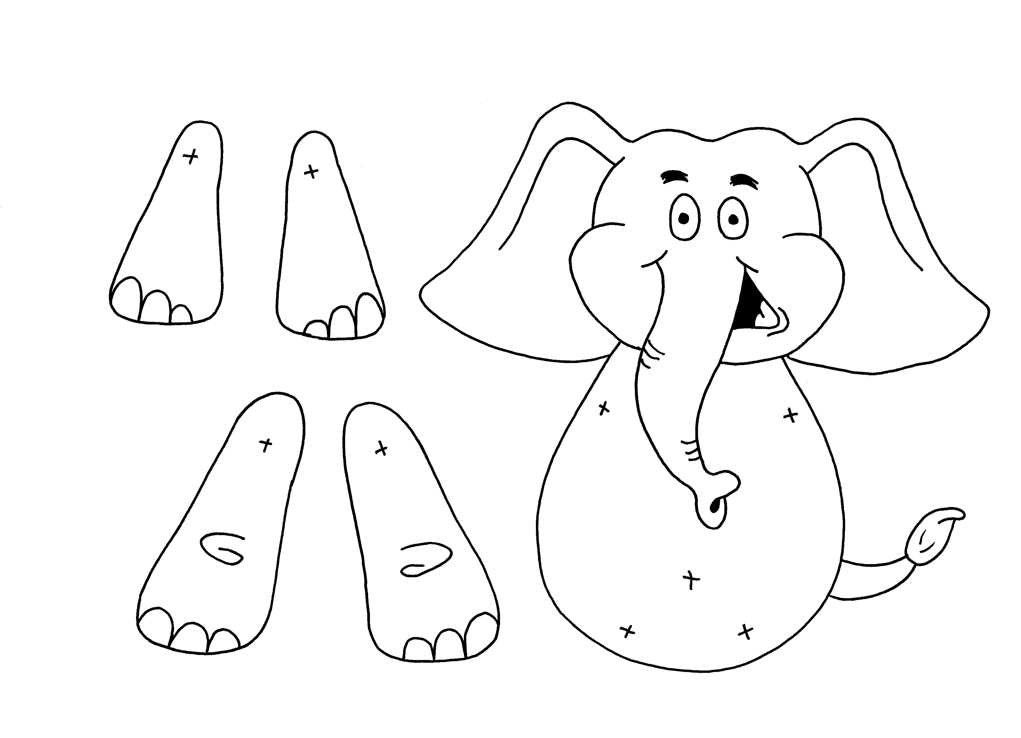 Download Hippo Colouring Sheet