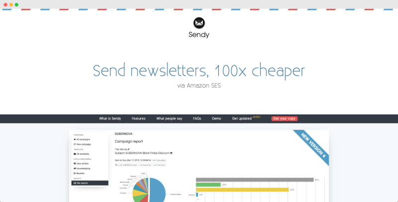 Sendy - Best and Cheap Email Marketing Platforms