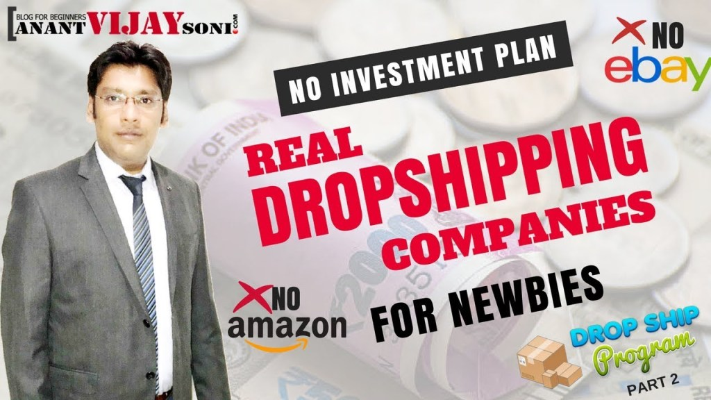 Real drop shipping companies for new indian newbies