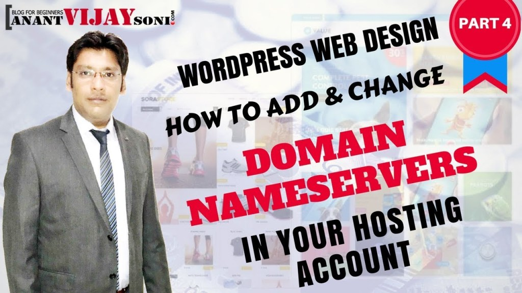 Add & Change Domain Nameservers to your Hosting Account (PART-4)
