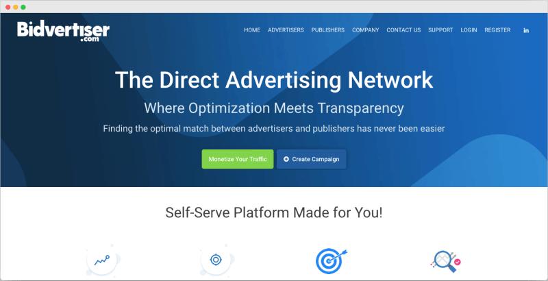 Bidvertiser - Best Google adsense alternative