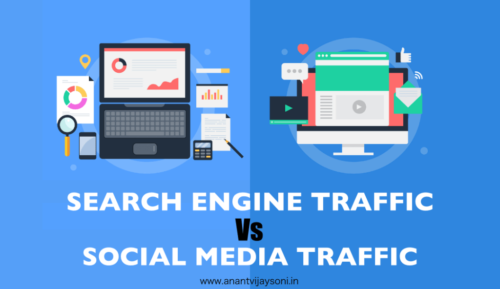 Search Engine Traffic Vs. Social Media Traffic