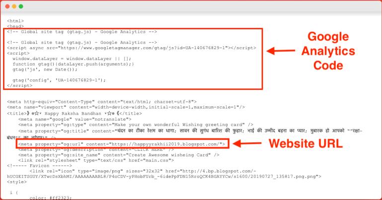 Raksha Bandhan Wishing Script customization for Blogger & WordPress [Free Download]