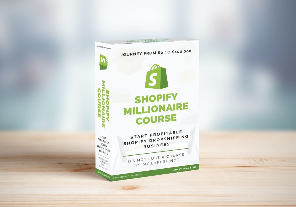Shopify Millionaire Dropshipping Course