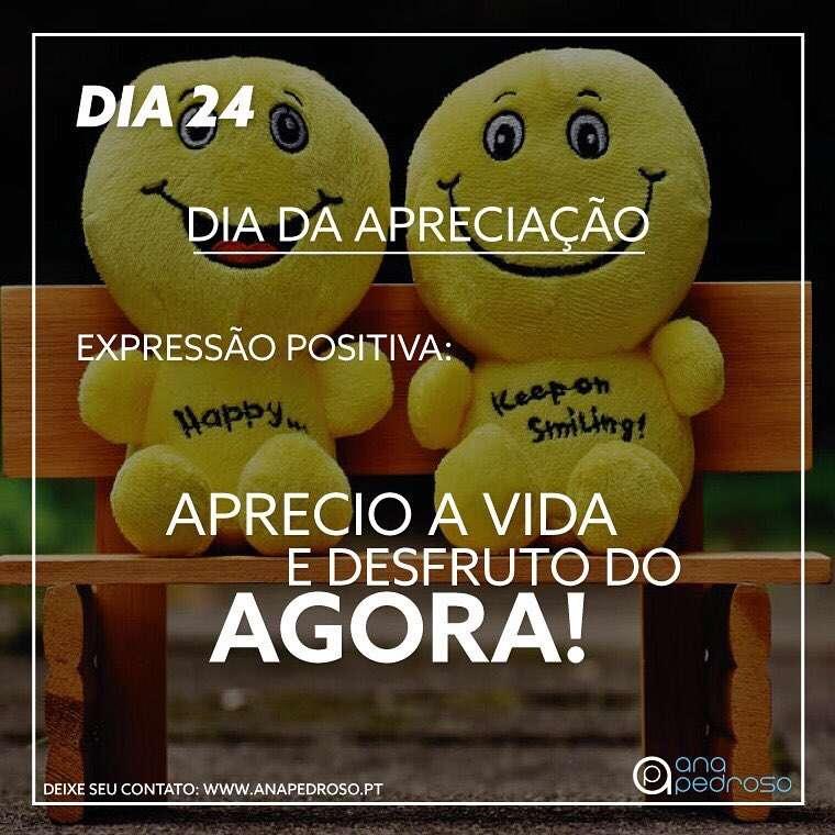 #24 Dia   DIA DA ALTO-CONFIANÇA!