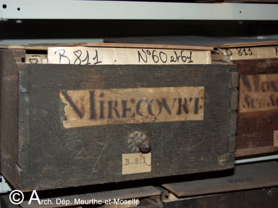La layette Mirecourt en 2003