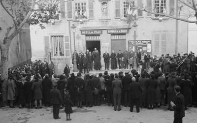La participation d'Anaphore au centenaire de l'armistice de 1918 Part 1 Barbentane le 11 novembre 1938