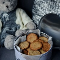 Pyszne i zdrowe ciasteczka migdałowe / Yummy and healthy almond cookies.