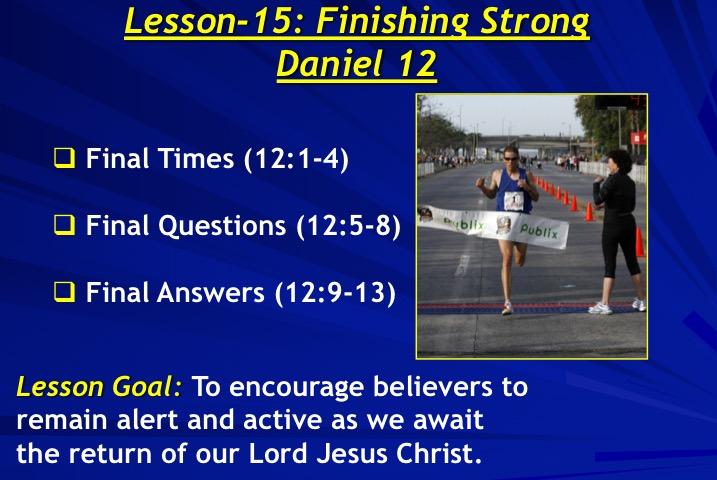 Daniel – An Approved Workman