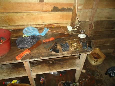 Imagen de una Casa de Pique en el sector de La Playita, Buenaventura, que circuló en las redes sociales en Marzo.