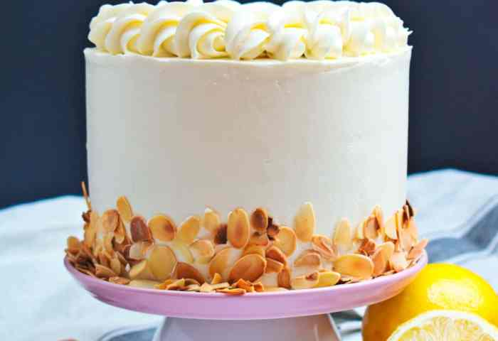 Almond Lemon Cake Anas Baking Chronicles