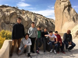 Travel with group in Cappadocia