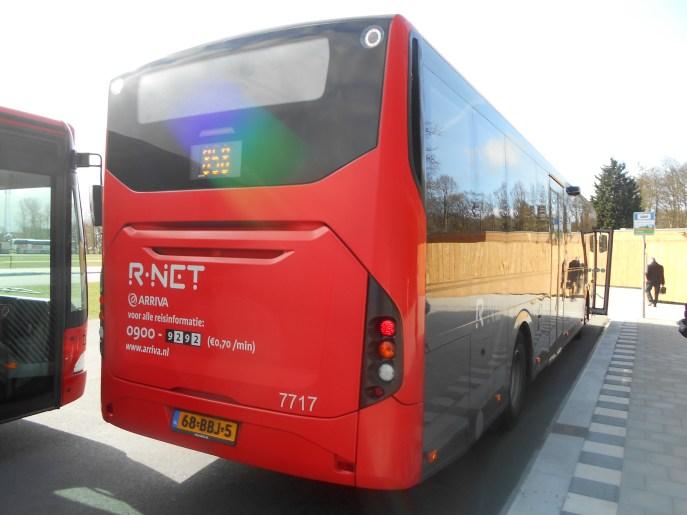 Arriva 858 Bus
