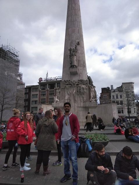 Amsterdam Tour Itinerary Dam Square