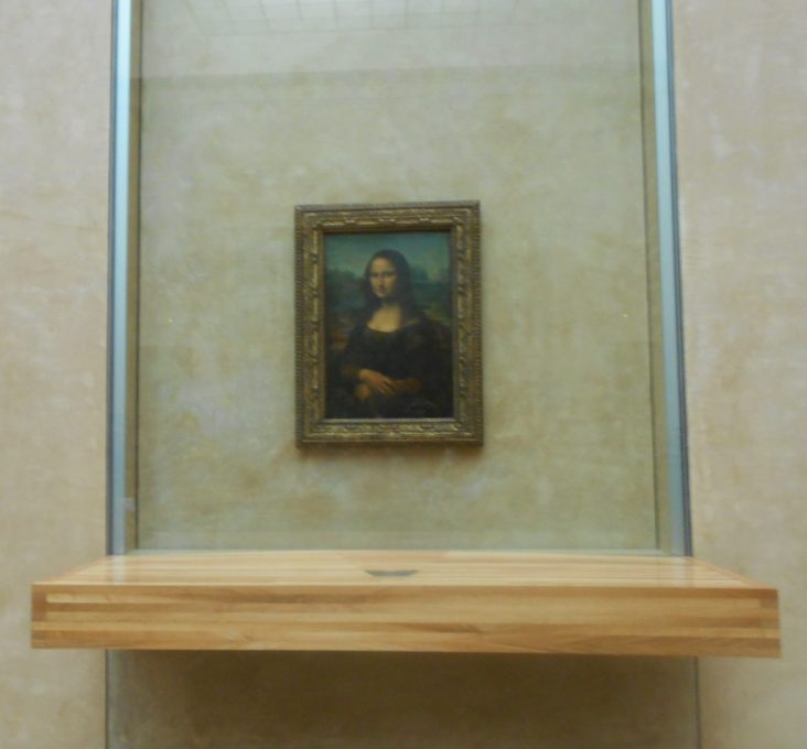 Monalisa Louvre Paris
