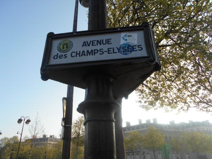 Champs Elysees Paris France