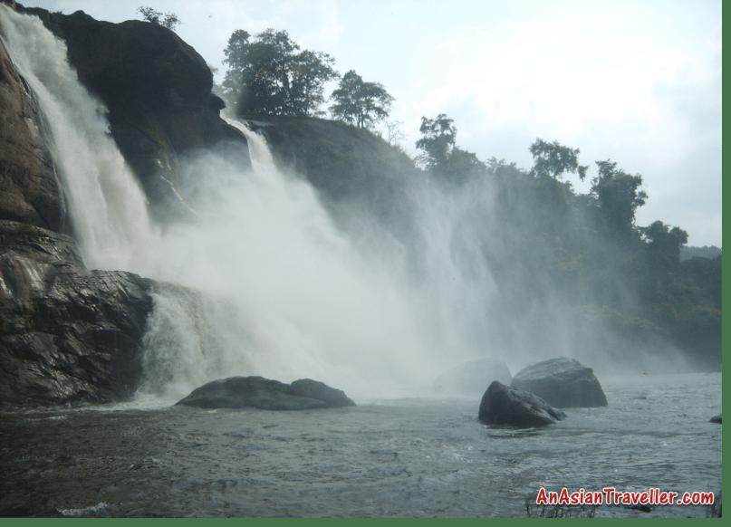 Athirapalli Falls, Chalakudy River, Trichur District, Kerala