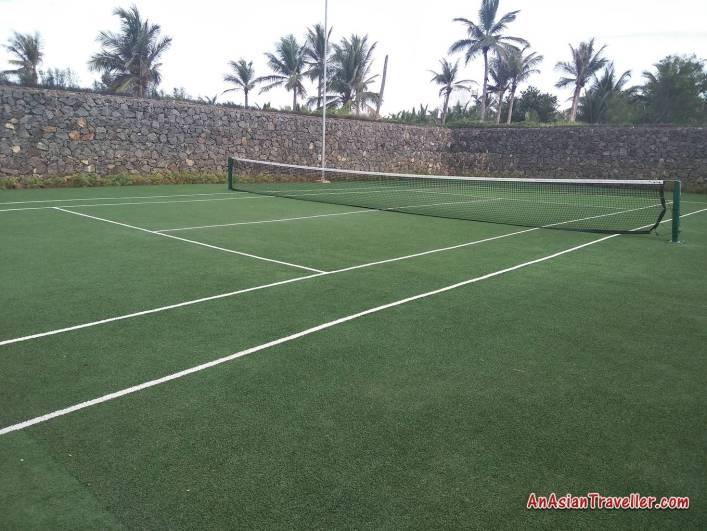 tennis court chennai Intercontinental Chennai