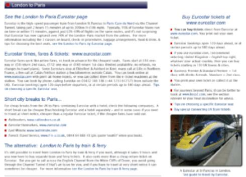 Seat61 train info