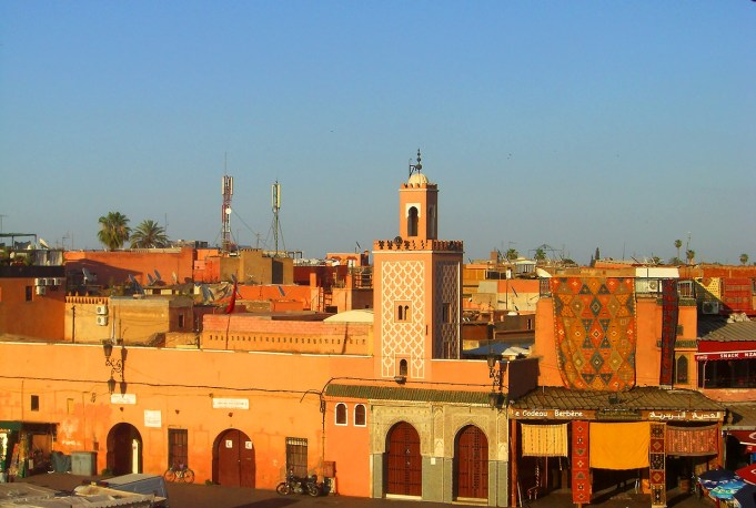 marrakech old town