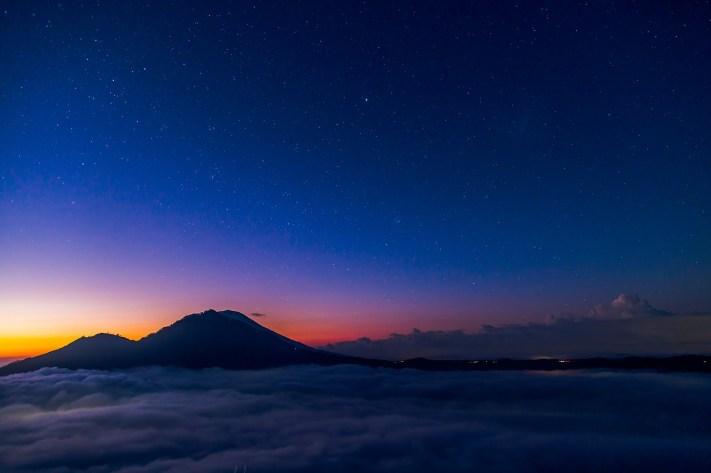 indonesia sunrise nature