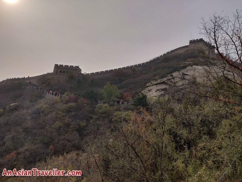 Badling great wall of china Beijing