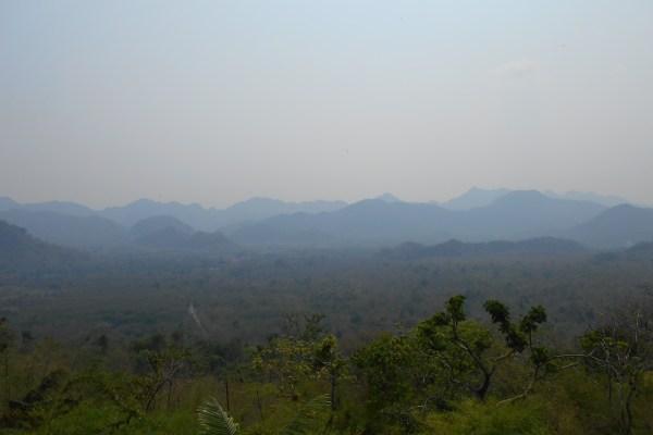 Hellfire Pass Route Kanchanaburi Thailand