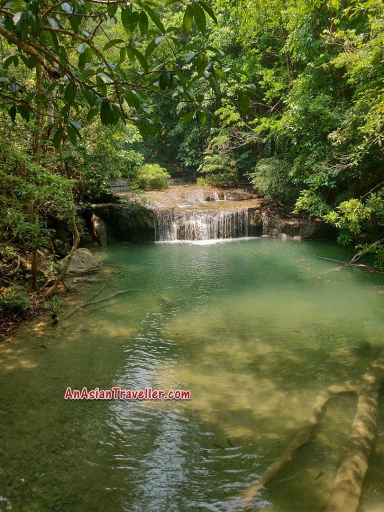 Erawan Waterfalls Kanchanaburi Thailand