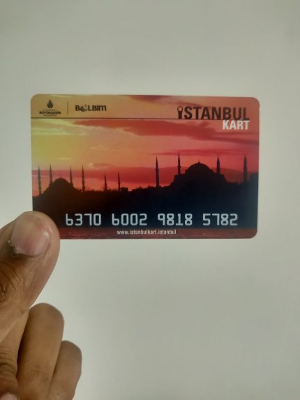 IstanbulKart card