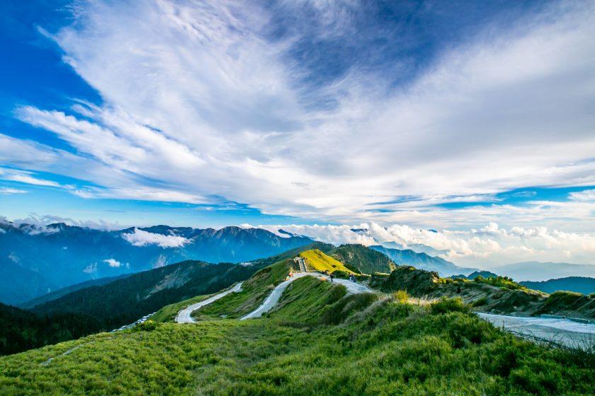 Hehuan  Mountain Range - Taiwan Tourism from India