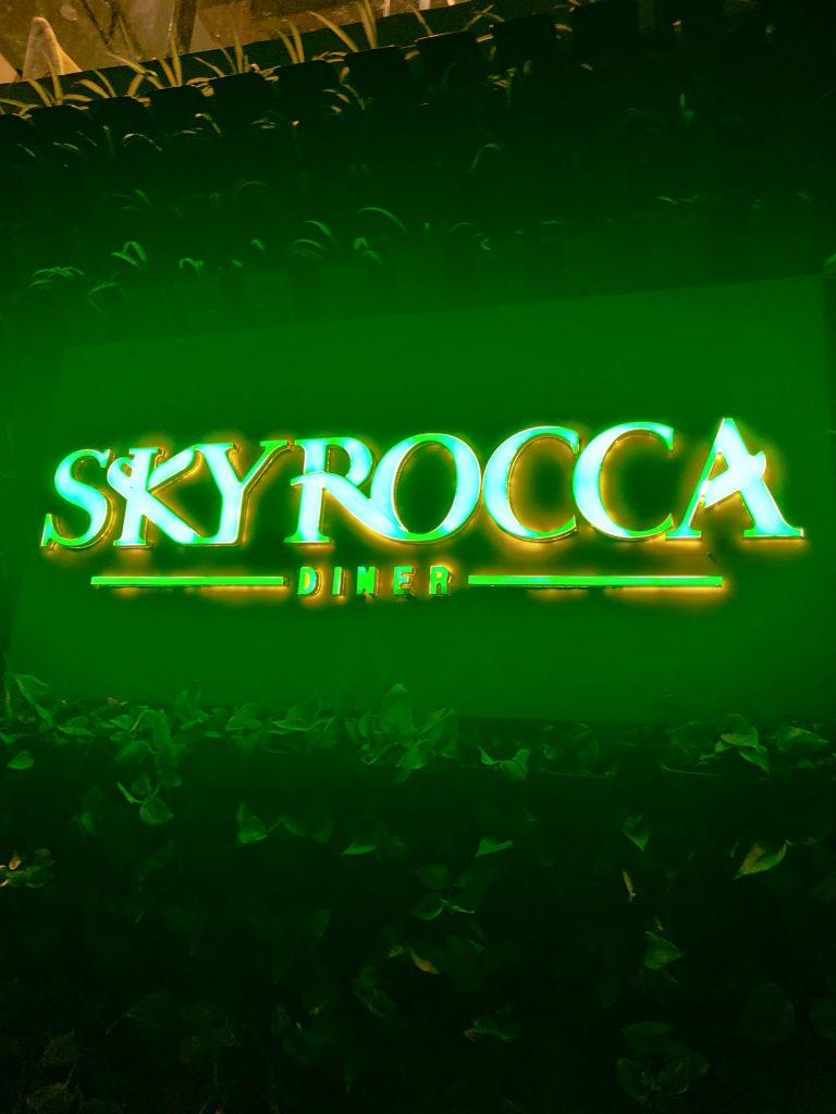 Skyrocca restaurant GRT Yercaud resort