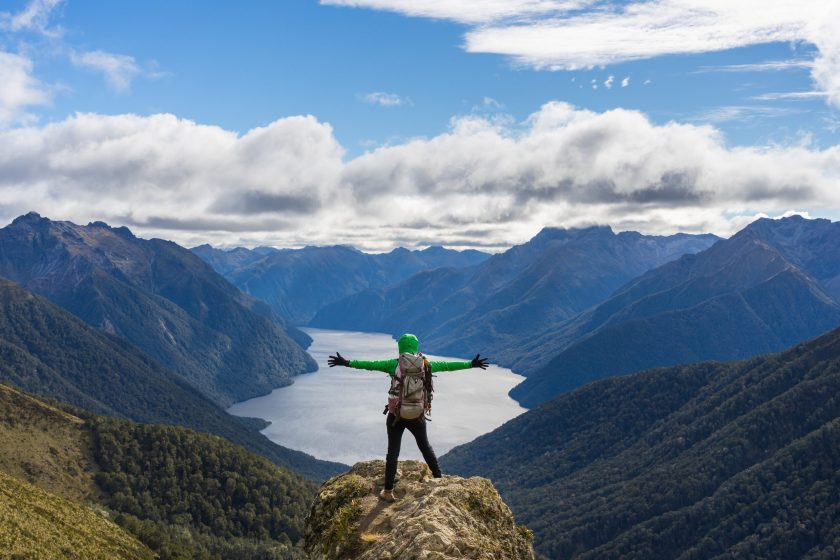 New Zealand adventure activities - trekking