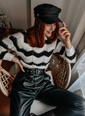 Black & White Tally Weijl Jumper