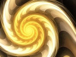 Analemma bubbly flame-spiral