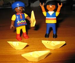 Origami für Anfängers – Papierbötchen